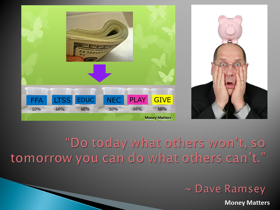 Do today what others