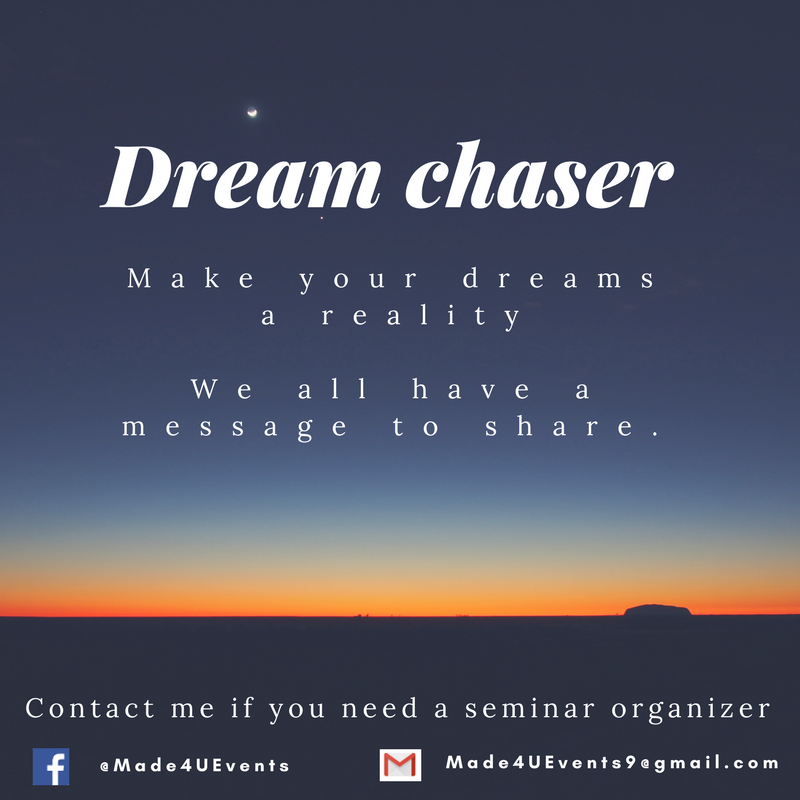 Dream chaser_Made4UEvents